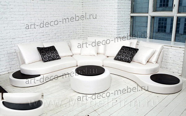 круглый диван купить москва