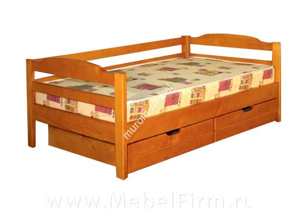 Кровать односпальная с ящиками своими руками