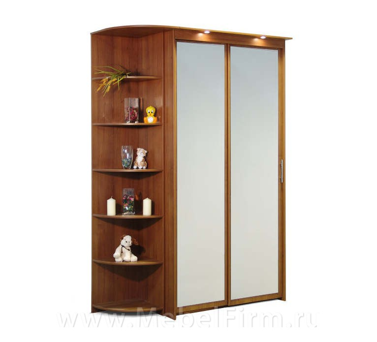 """Шкаф-купе 2х дверный с 2 зеркальными дверями москва - """"мебел."""