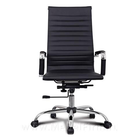 Кресло brabix кожа