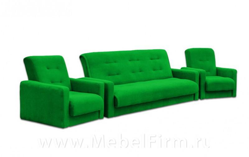 Набор диван и кресло Москва