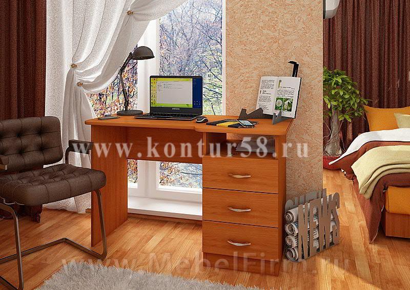 """Письменный стол 1 - мебельная фабрика """"контур""""."""